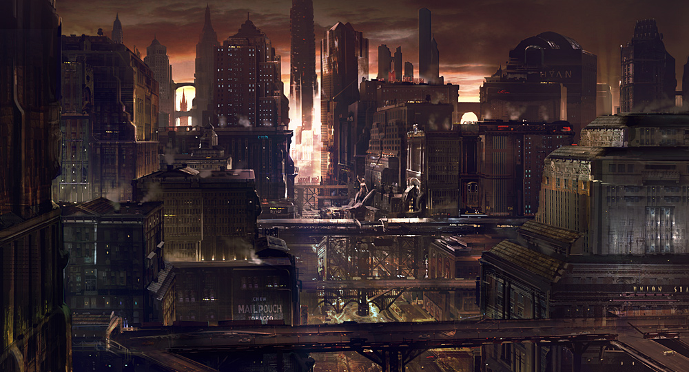 Sci City by Vendetta-Arts