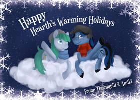 Happy Hearth's Warming! by Amiki-Doodles