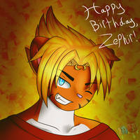 Happy Birthday, Zephir!