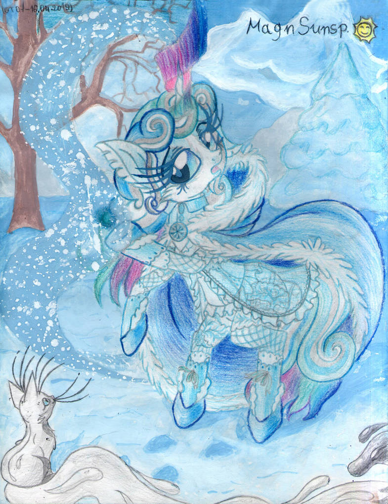 Snowy charms by MagnifSunspiration