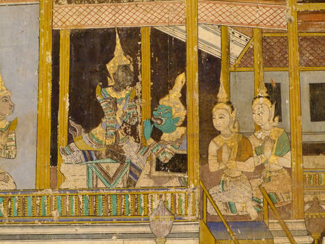 Royal palace scene