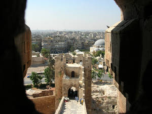 View on Aleppo from the Citadel