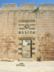 Aleppo, inside the citadel