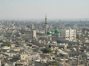 View on Aleppo