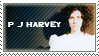 PJ Harvey Stamp by Sluagh