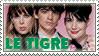 Le Tigre Stamp by Sluagh