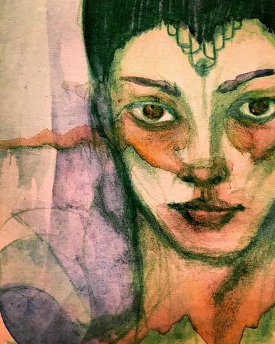 Green gaze by Sluagh