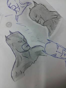 Batman quick sketch..