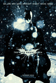 The Dark Knight Rises - Fan Poster