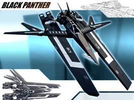 Black Panther by pangeranberbajuputih