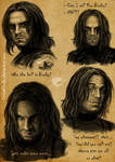 Bucky mimicry sketches