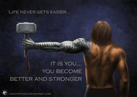 Stronger by UnicatStudio