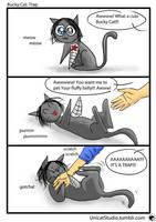 Bucky Cat: Trap by UnicatStudio