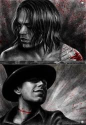 Bucky X Jefferson by UnicatStudio