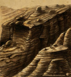 Gorge /concept sketch/ by UnicatStudio