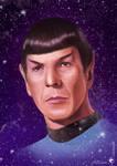 Spock (digital painting)