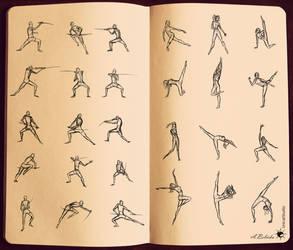 Dynamic Sword Dance by UnicatStudio