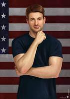 Steve Rogers / Captain America by UnicatStudio