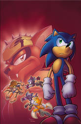Sonic Universe 12 cover by Yardley