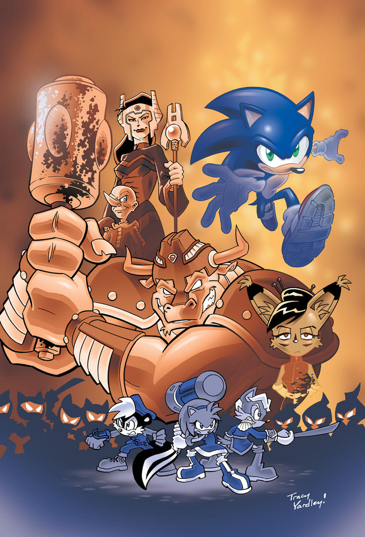 Sonic 210 alternate cover by Yardley