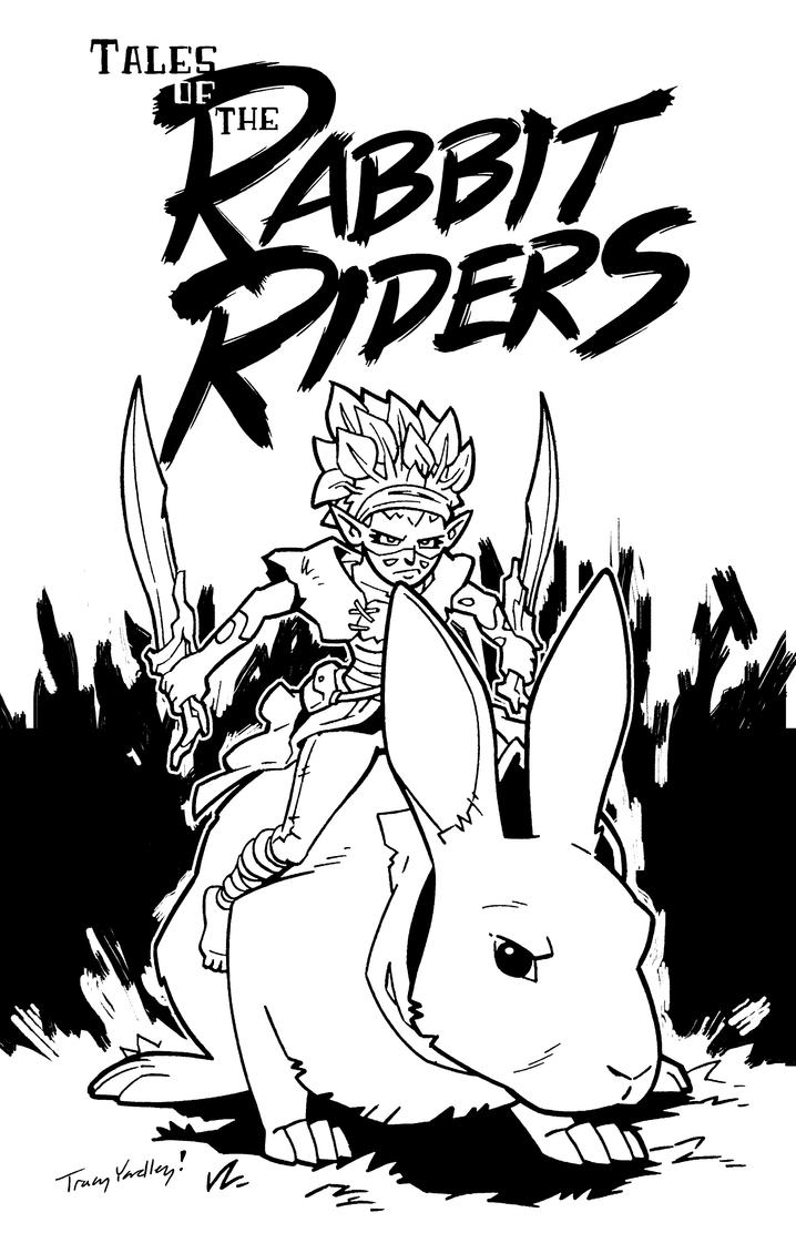 Rabbit Riders Concept Art by Yardley