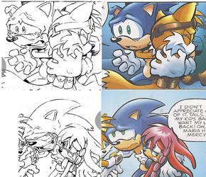 Sonic 166 panel comparison