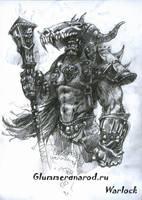 Orc Shaman by Glummer