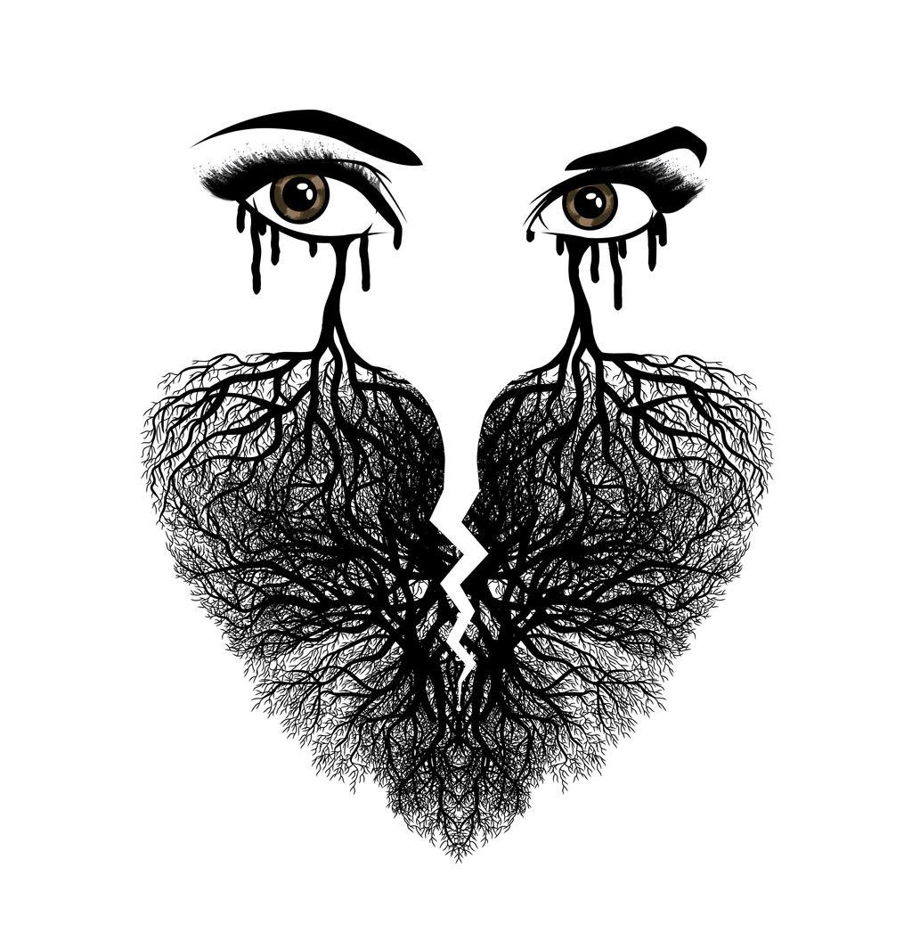 Heart break Tears by johnnygreek989