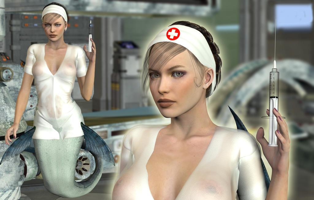 Nurse Michelle by SeatailsArt