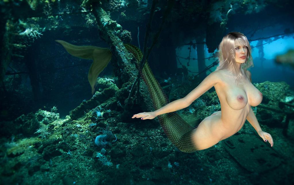 Mermaid Exploring by SeatailsArt