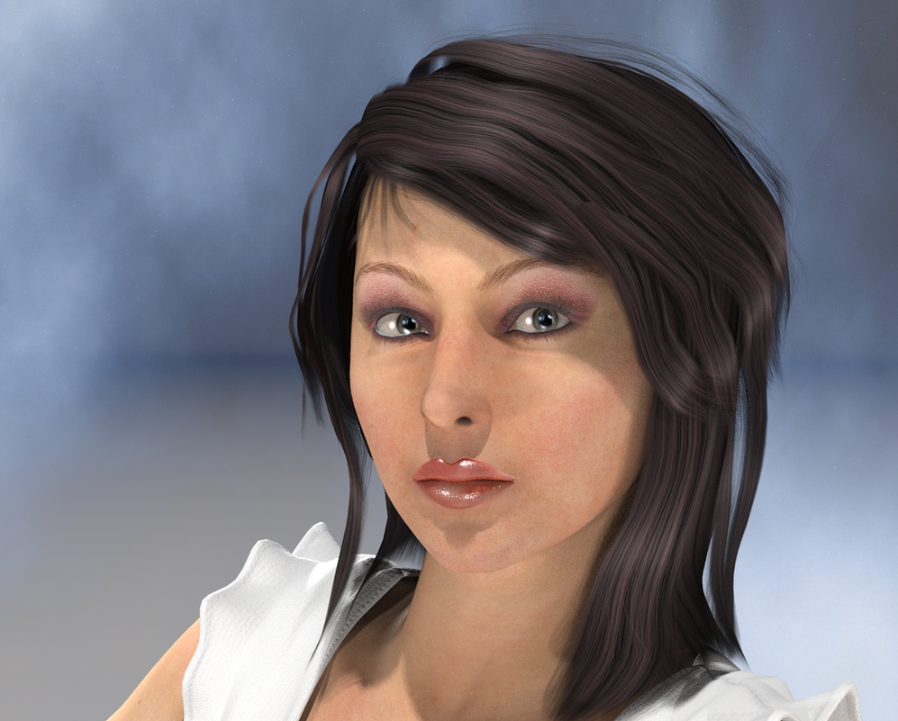 Concept Art for Bree Storme from my latest novel by SeatailsArt