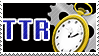 TTR stamp by aerospray