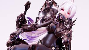 MMD TDA Shadow Knight Haku