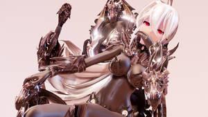 MMD TDA Shadow Knight Haku V.2 by xoONekoChanOox