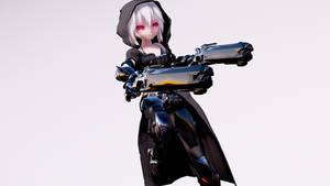 MMD TDA Reaper Haku by xoONekoChanOox