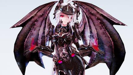 MMD TDA Dragonlord Haku
