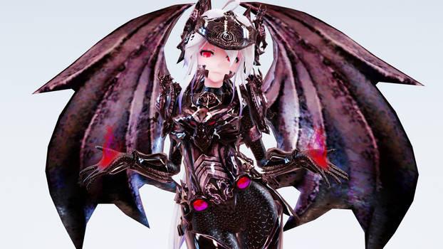 MMD TDA Dragonlord Haku by xoONekoChanOox