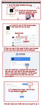 Baidu Model dl Tutorial *Update* Read description!