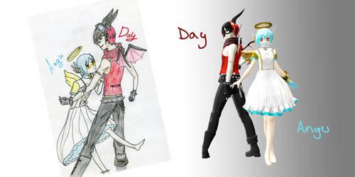 Day and Angu OC