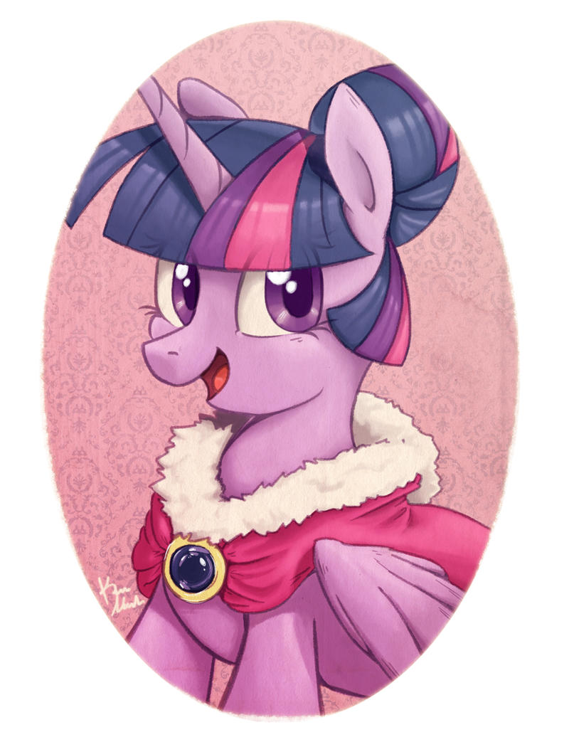 Portraits: Twilight Sparkle by Radioactive-K