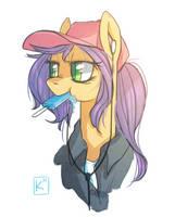 Music Pony Art Trade by Radioactive-K