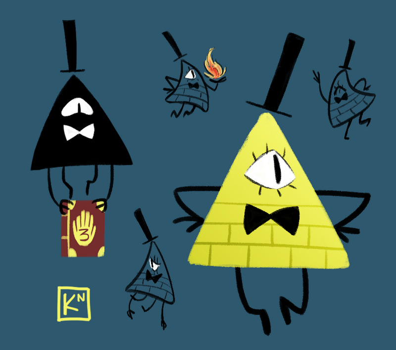 Bill Cipher by Radioactive-K