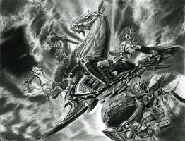 Final Fantasy XIII by AlexandrosVII