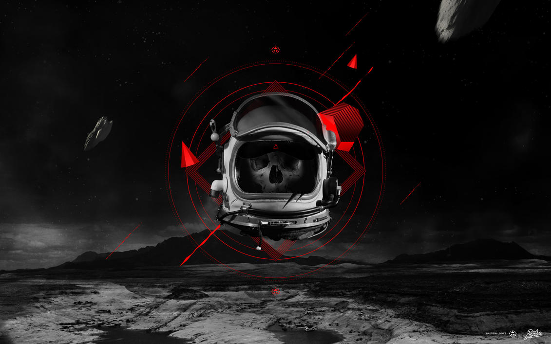 Dead Astronaut Wallpaper by bastienald