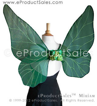 Forest Green MIRIAM Wings by eProductSales