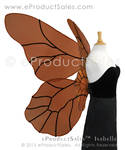ISABELLE Large Autumn Butterfly Fairy Wings by eProductSales