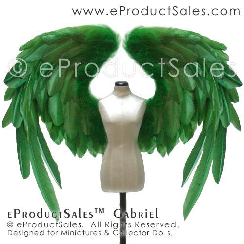 eProductSales Gabriel GREEN BJD doll Wings figurin by eProductSales