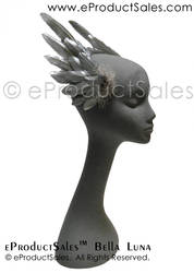 eProductSales BellaLuna Metallic Silver Head Wings by eProductSales
