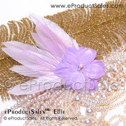 eProductSales Ellie Pastel Purple hair clip art by eProductSales