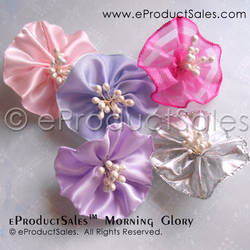 Unicorn Dreams Morning Glory Hair Jewelry Ribbons by eProductSales